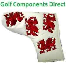 Wales Welsh Red Dragon Putter Head Cover Brand New