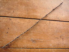 BAKER'S FLAT BARB on TIGHT TWISTED LINES - ANTIQUE BARBED BARB BOB BOBBED WIRE