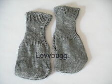 Gray Socks Doll Clothes for 15-18' American Girl Doll or Preemie Baby Selection!