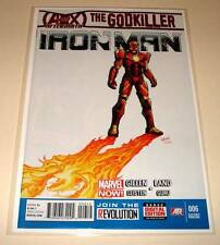 IRON MAN # 6  Marvel Comic  May 2013   2nd PRINTING VARIANT COVER EDITION   NM