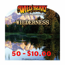 "50* Wild Berry Incence Hand Dipped 11"" Sticks 16 Assorated Wilderness Scents"