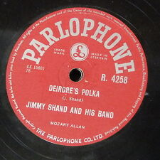 78rpm JIMMY SHAND deirdre`s polka / gay gordons dundee military tattoo