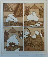Harriet Brigdale, the dress maker, limited edition 1/100 etching,
