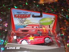 """DISNEY PIXAR CARS """"LONG GE"""" Super Chase! Scale1:55, Die-Cast Metal, NEW, Mattel"""