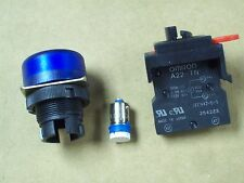 OMRON INDICATOR LIGHT M22-FA-24A BLUE M22FA24A