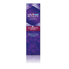 Crest 3D White Luxe GLAMOUR BIANCO VIVACE SBIANCANTE DENTIFRICIO 116g / 4.1 OZ