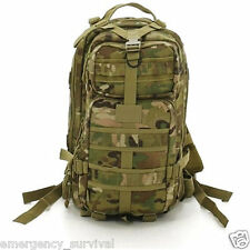 MULTICAM Camouflage Medium Transport Back Pack MOLLE Bladder Hydration Backpack