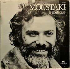 Charles Moustaki le Meteque LP French Singer Songwriter Orig US Issue Vinyl NM
