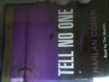 Harlan Coben Tell No One Audio Book Four Cassettes=free postage