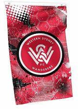 Official A League Soccer Western Sydney Wanderers Supporters Cape Wall Flag