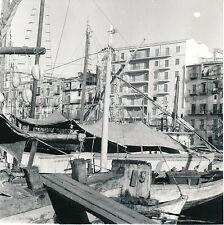 PALERME c. 1950 - La Cale Les Bateaux Sicile Italie DIV 5018