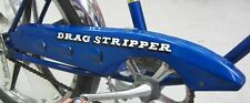 New Drag Stripper DECAL STICKER for Banana Muscle Bike Bicycle