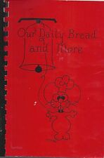 *KINGSPORT TN 1986 ST CHRISTOPHER'S EPISCOPAL CHURCH COOK BOOK *OUR DAILY BREAD