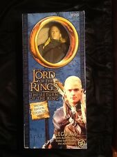 "Lord of the Rings Return of the King 12"" Legolas doll MINT Toybiz 2003 LoTR"