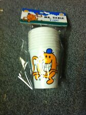 2 Packs of 8 (16) Mr Men & Little Miss Mr Tickle Childrens Birthday Party Cups