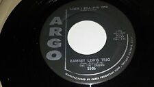 """RAMSEY LEWIS TRIO Since I Fell For You / The """"In"""" Crowd ARGO 5506 SOUL 45 7"""""""