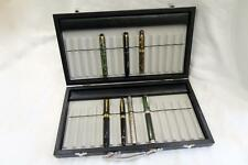 S/OFFER !! NEW FOUNTAIN PEN COLLECTORS DISPLAY CARRY CASE FOR 30 PENS OR PENCILS