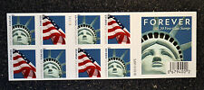 2011USA #4563-4564b Forever Lady Liberty & Flag  Booklet of 20 (AVR)#V11111 Mint