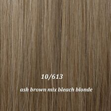 100% Natural Long Clip In Hair Extensions Extention Full Head MULTI COLORS gn07