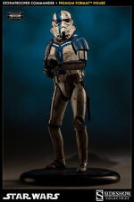 Sideshow Collectibles Star Wars Stormtrooper Commander Premium Format Figure New