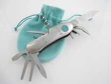 Tiffany & Co RARE Streamerica Swiss Army Knife 8 Tools Golf Tool!