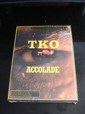 TKO Accolade Game for IBM PC - NEW & Sealed - Vintage