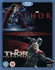 Thor / Thor The Dark World 2 Movie Collection Blu-Ray Region Free