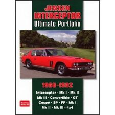 Jensen Interceptor Ultimate cartera 1966-1992 libro papel