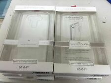 Original Case Mate LG G4 Naked Tough Case Hard Shell Cover Clear w/ Clear Bumper