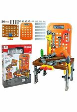 44 PCS KIDS TOY TOOL KIT PLAY SET POTABLE WITH ELECTRONIC DRILL