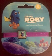 Disney Pixar Finding Dory Roxo Charm Bracelet DORY Size Small NEW
