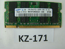 Samsung 1GB 2Rx8 PC2-5300S-555-12-E3 Notebook RAM DDR2 667 MHz #KZ-171