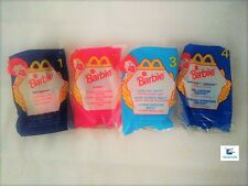 NEW: 1998 Barbie McDonald's Happy Meal Toys Complete UNOPENED set