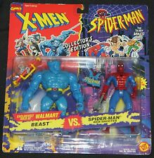 1994 Toy Biz Marvel X-Men Spider-Man Action Figure Walmart Exclusive MOC Beast