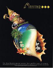 PUBLICITE ADVERTISING 114  2000   COSTA CROISIERES   costa Atlantica  ( 2p)