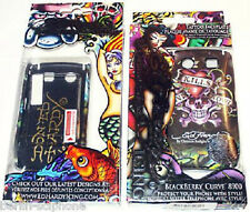 BlackBerry 8900 Curve Ed Hardy son sac Hard Case Cover Housse de protection + Film