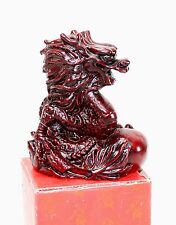 Powerful Dragon - Japanese Chinese Asian Red Collectible Figurine Paperweight