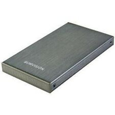 New 250GB External Portable 6.3cm USB Hard Drive Grey