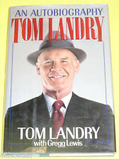 Tom Landry - An Autobiography 1990 Biography! Nice SEE!