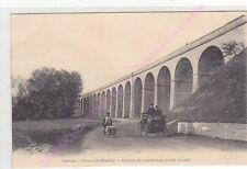 CPA 77160 PROVINS Viaduc de Besnard station de Longueville ligne Est animation
