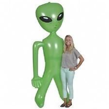 """GIANT INFLATABLE ALIEN 100"""" Over 8' Tall Blowup Martian UFO #BB33 Free Shipping"""