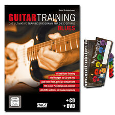 Guitar Training BLUES-CD, DVD, Dunlop Plettro Set-eh3932 - 40269299168