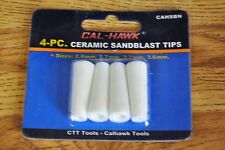 Cal-hawk 4 Four Piece Ceramic Sandblast Tip Nozzle For Air Sandblaster Gun Tips