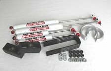 "RAM 1500 1994-2001 LIFT KIT 3"" SPACERS 3"" BLOCKS  DOETSCH TECH GAS SHOCKS 2WD"
