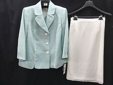 """LESUIT SKIRT SUIT/NEW WITH TAG/SIZE 16W/PLUS SIZE/RETAIL$240/SKIRT LENGTH26"""""""