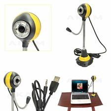 Bendable Digital USB Webcam PC Video Camera/Mic For Desktop PC Laptop Computer