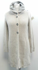 Julia Garnett Long Wool Mix Cardigan Beige Size ITA 48 / UK 16 BOX7314 D