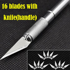 Exacto Knife Style + 16pcs blades #11 x-acto  Hobby Multi tool Crafts  Cutting