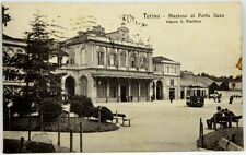 Cartolina Formato Piccolo - Torino - Stazione Di Porta Susa Piazza San Martino V