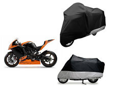 Large Motorbike Rain Cover Motorcycle Waterproof Bike 210D Oxford Material